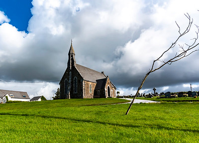 Church in Waterville, Ireland