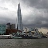 "The ""Shard"" and the Belfast on the Thames, London"