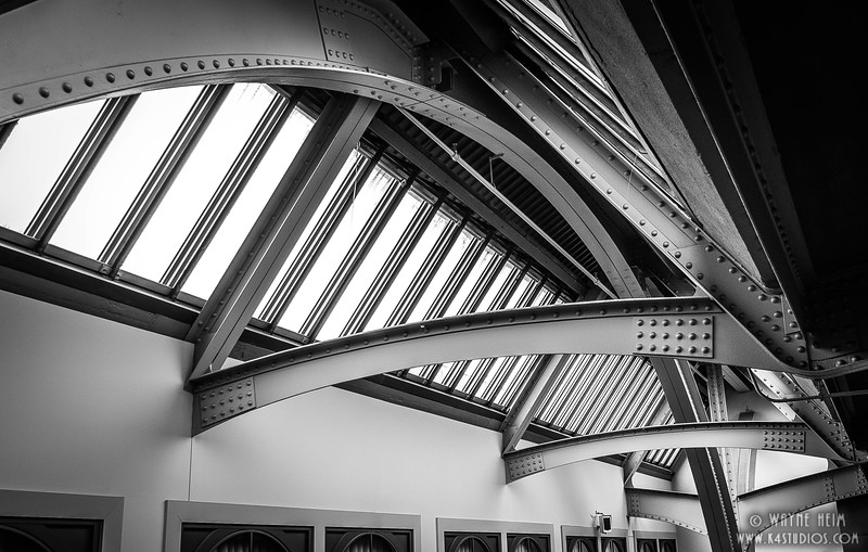 I-Beams. Black & White Photography by Wayne Heim