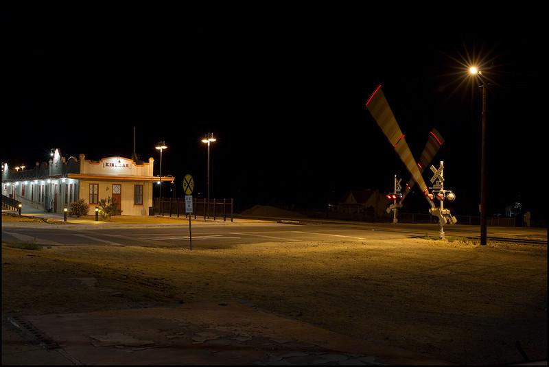 <center><i>Kingman, AZ, Amtrak Depot, 1:29:01am</i></center>#5037-7D
