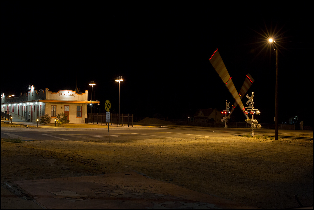 <center><i>Kingman, AZ, Amtrak Depot, 1:29:01am</i></center>#5037-7D
