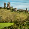 Corfe Castle (Portrait)