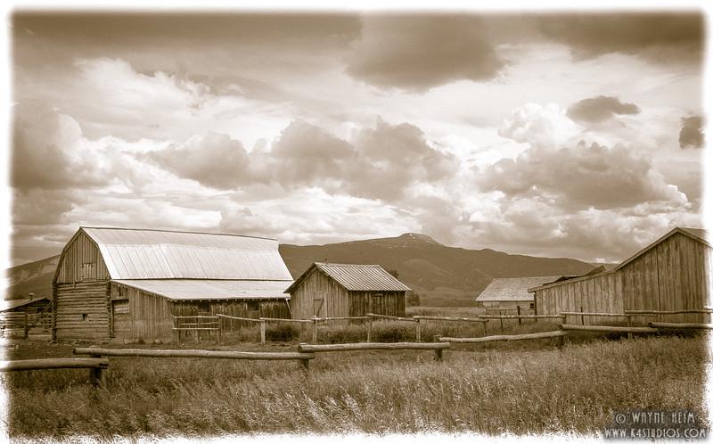 Old Farm. Photography by Wayne Heim