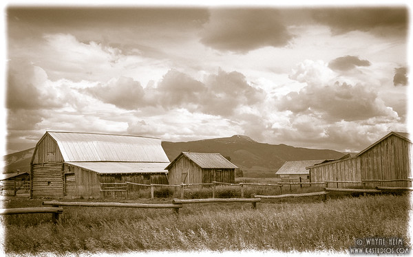 Old Farm. Photography by Wayne Heim