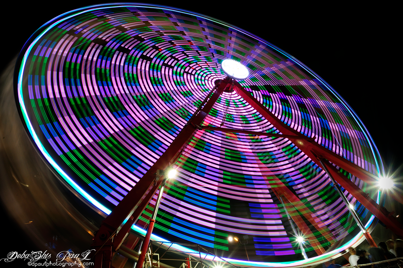 Ferris Wheel @ Gwinnett County Fair - Georgia,  USA