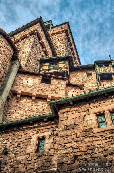 Haut-Koenigsbourg Castle - Photography by Wayne AHeim