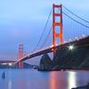 The Golden Gate Bridge at Sunset