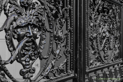Ornate Ironwork, Savannah, GA