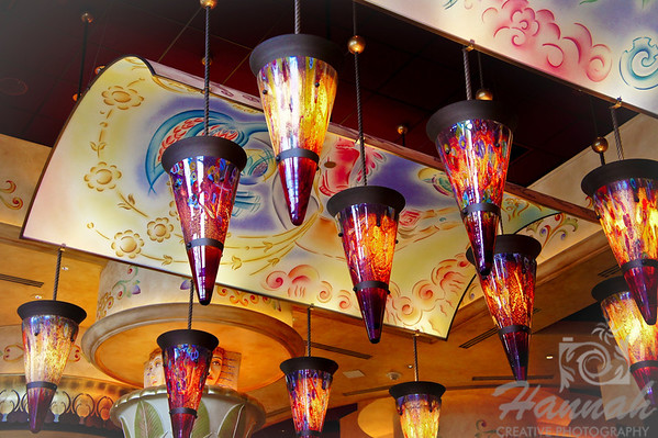 Ceiling at 'The Cheesecake Factory' located at Washington Square Mall (Portland, Oregon)  © Copyright Hannah Pastrana Prieto