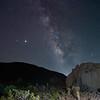 Milky Way on the Ryan Mountain Trail.