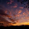 Fall Sunset in Glendale