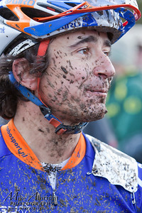 Bend, OR resident an Olympic Cycling Team member Adam Craig (Giant/Rabobank) after his race at the USA Cycling Cyclo-Cross Nationals in Bend Oregon on December 12, 2010. Adam finishsed in 7th place.