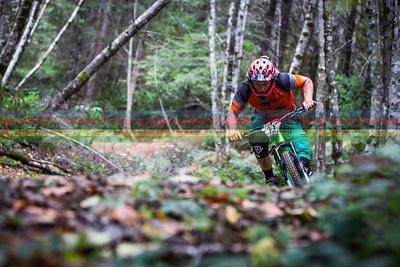 Kelend Hawks was test-riding Bell's new enduro helmet for the weekend.