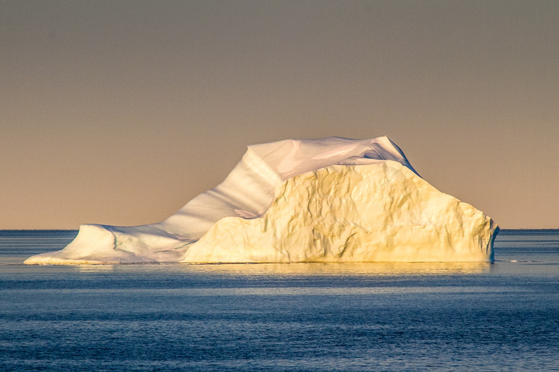 Morning Iceberg