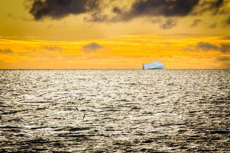 Morning Iceberg at Lancaster Sound