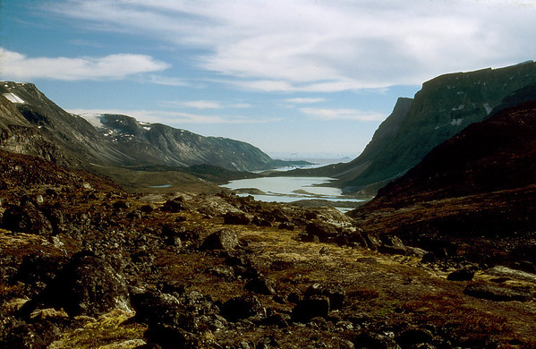 South coast of Nuqsuaq Peninsula, W Greenland