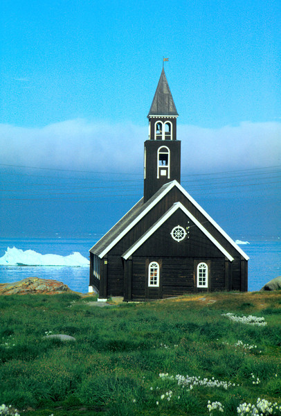 Zions church from 1779, Ilulissat