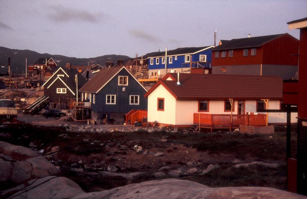 Ilulissat at midnight