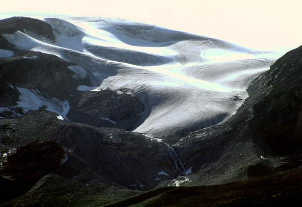 Ice cap in the interior of Nuqssuaq