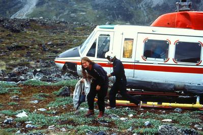Drop off at Eqaluit, Nuqssuaq
