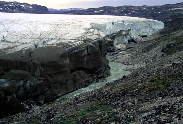 Inland ice edge, Nuqssuaq