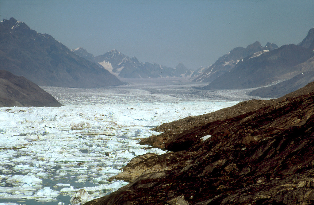 Midgard Glacier, Sermilik Fjord, East Greenland
