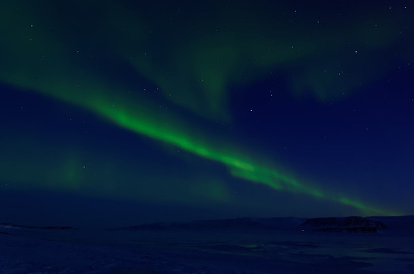 Northern lights of Ittoqqortoormiit