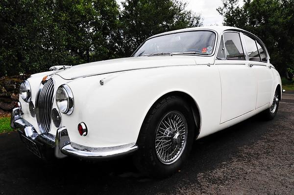 Icelandic nobel price author Halldor Laxness' car, Jaguar