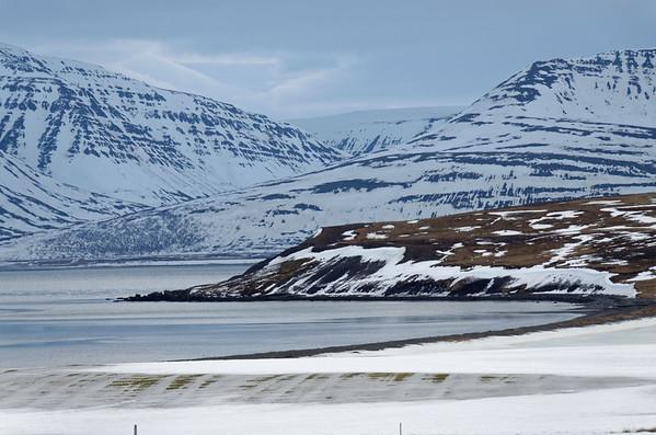 Galmaströnd, Arnarnesnafir, Eyjafjördur to Vikurskard