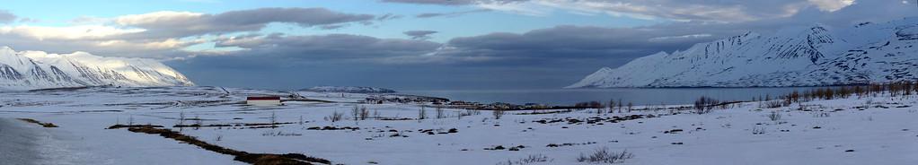 Arskogsströnd and Hrisey Island