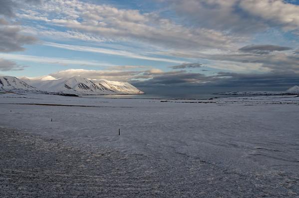 Overlooking bay of Dalvik