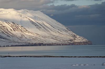 Kistufjall range, north of Dalvik