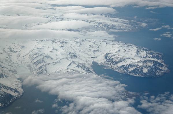 Siglufjördur mountains