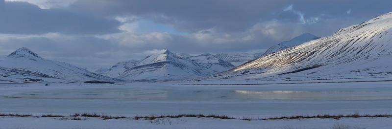 Svarfadardalsa, looking South to Stoll mountain