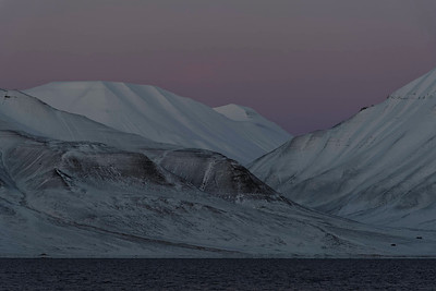 Arctic night, Svalbard
