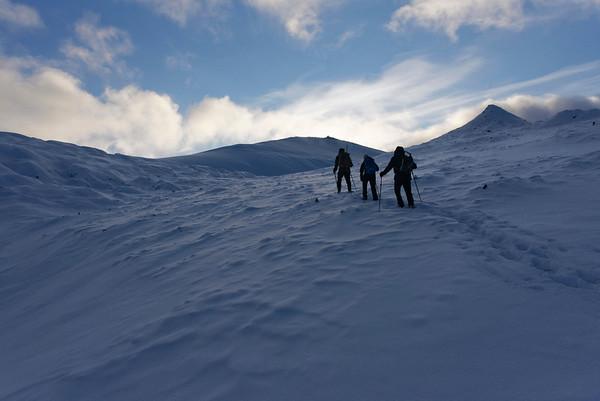 Trollsteinen ascent