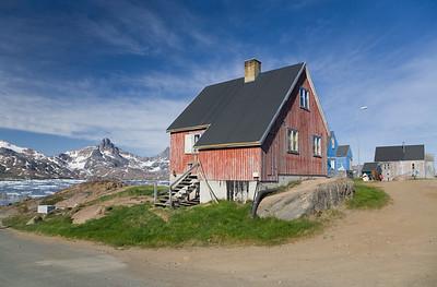 Greenlandic houses.