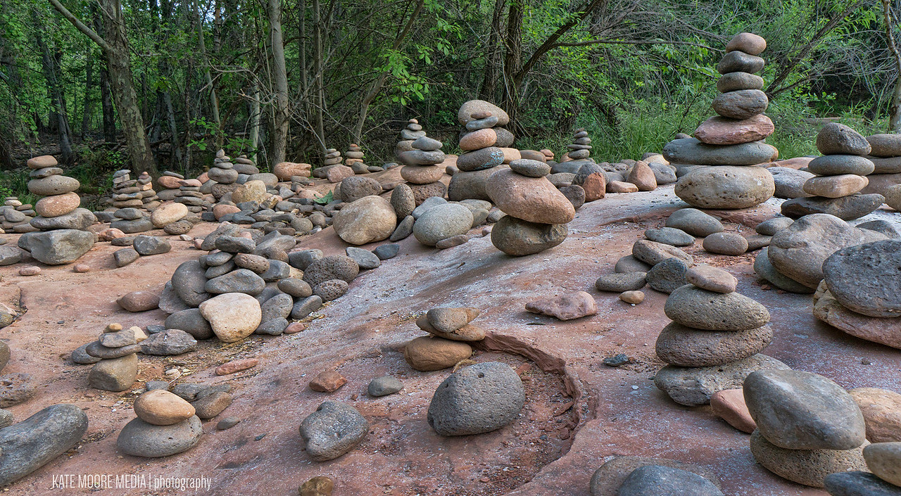 Every river rock has a story, and every cairn has a wish.