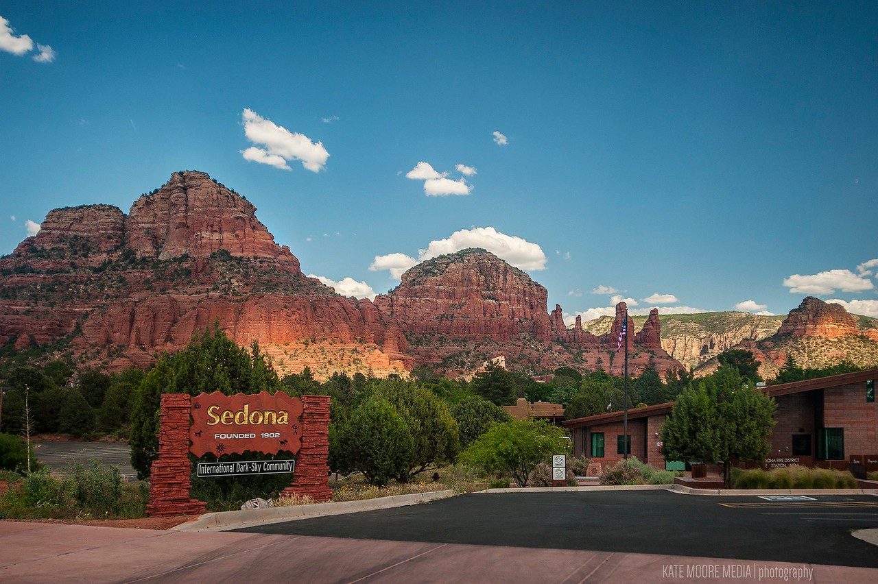 Our journey began in Sedona. Taken out the car window as we drove past the welcome center