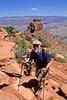 Hiker(s) in Grand Canyon National Park, AZ - 99 - 72 dpi