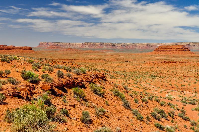 Desert Sands & Cliffs
