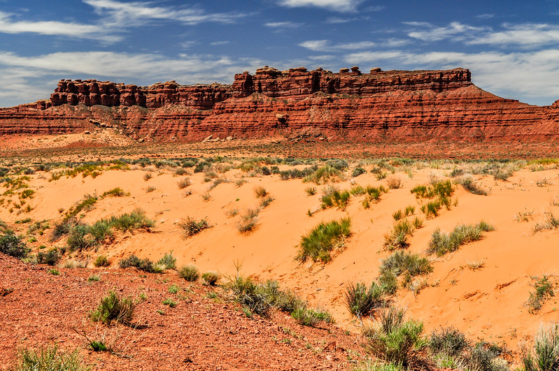 Multiple Colors of the Valley of the Gods