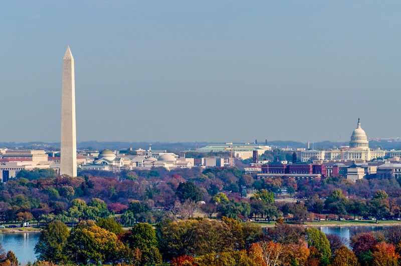 Washington Monument & Capitol Building