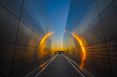 Empty Sky Memorial Wall - Jersey City, New Jersery