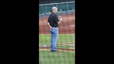 Greg Pate performing National Anthem at KC T-Bones ball game!