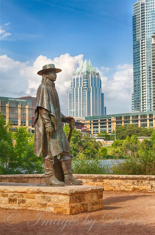 Steve Ray Vaughn Statue
