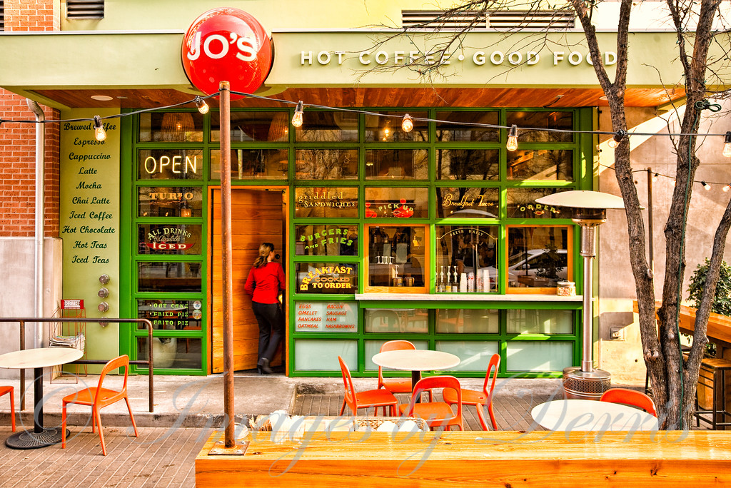 Jo's coffee shop on 6th street
