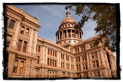 Side view of State Capital