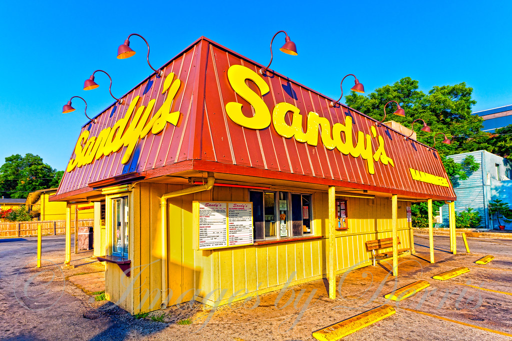 Sandy's Hamburgers on Barton Spring Road