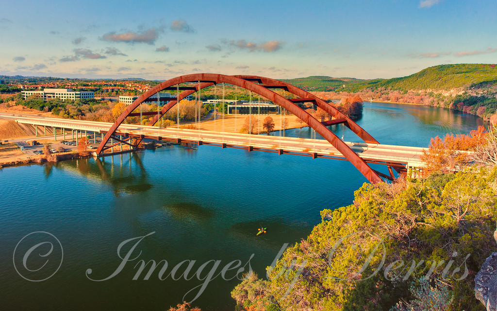 Pennybacker Bridge over Lake Austin